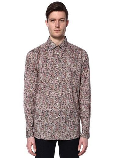 Şal Desenli Uzun Kollu Gömlek-Paul Smith